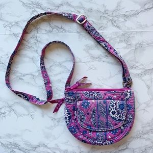 Vera Bradley Boysenberry Lizzie Crossbody Bag